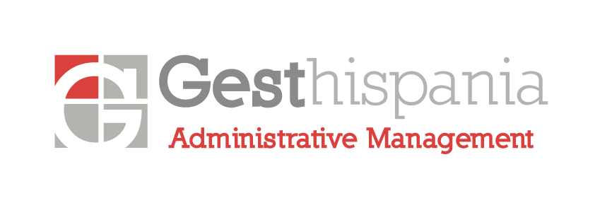 Gesthispania Logo - Administrative Management Services - Horizontal