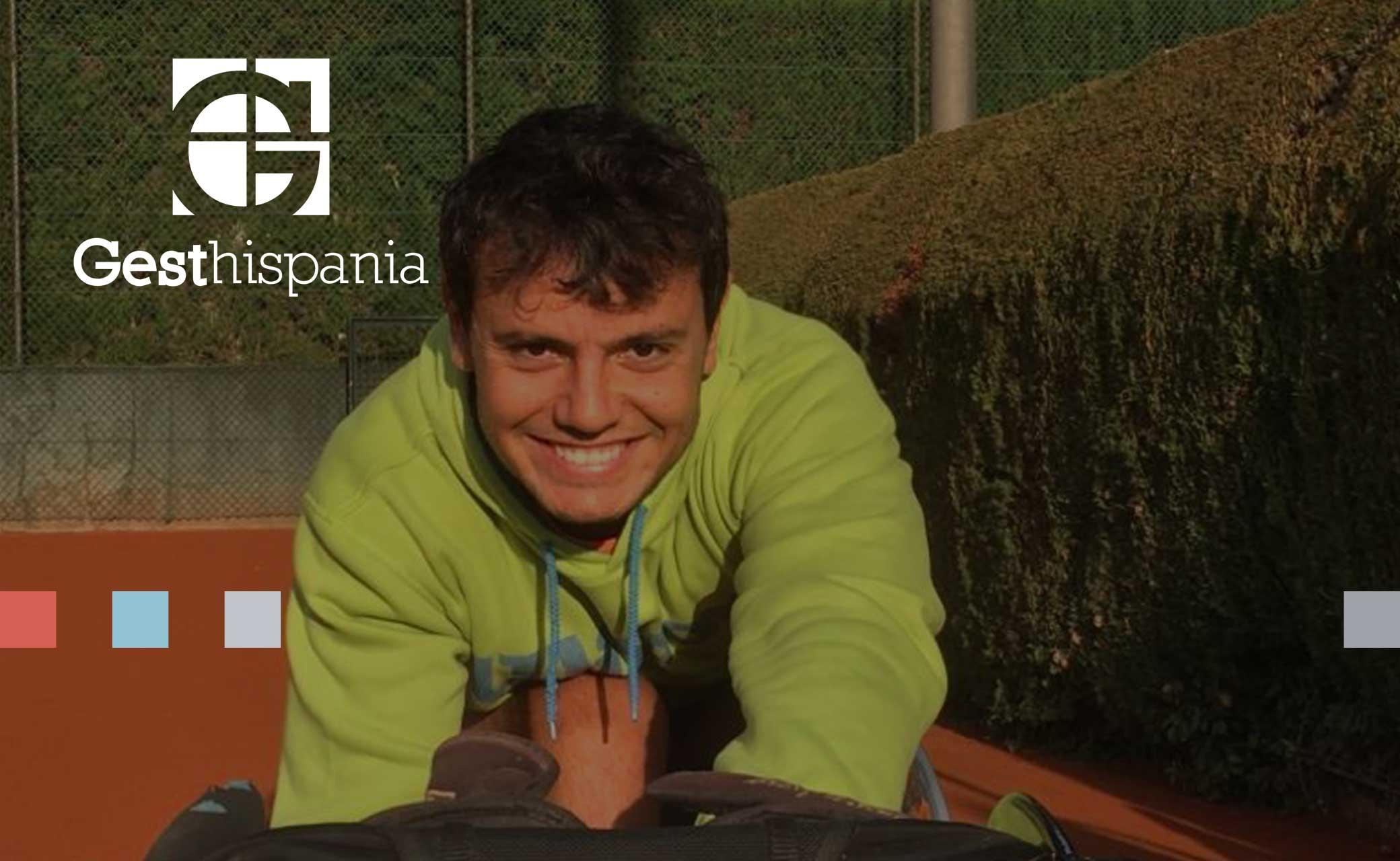 Cisco García, el patrocinado de Gesthispania