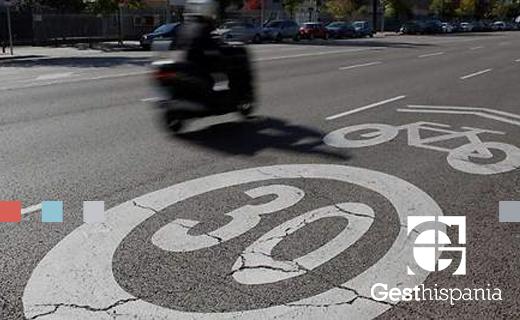 Gesthispania - Nuevos límites velocidad urbana